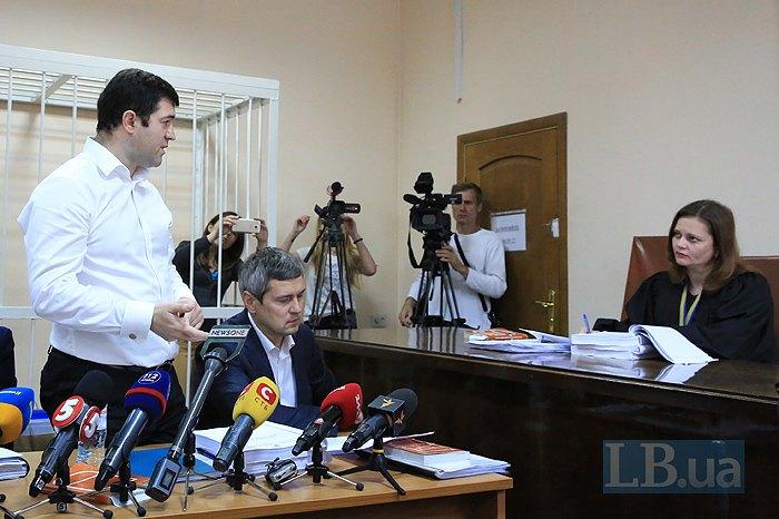 Роман Насіров під час засідання суду