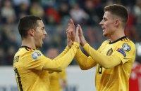 Братья Азар принесли сборной Бельгии победу над россиянами в матче квалификации Евро-2020
