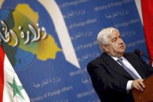Сирия назвала санкции ЕС объявлением войны