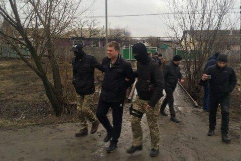 Андрея Лесика задержали ВЛуганской области