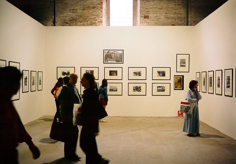 Экспозиция проекта Виктора Марущенко на 49-ой биеннале в Венеции