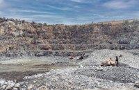Поліція звинуватила начальника кар'єру в Запоріжжі в незаконному видобуванні граніту на суму 1 млрд гривень
