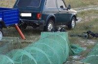 На Кінбурнській косі браконьєри виловили крабів і креветок на 5 млн гривень
