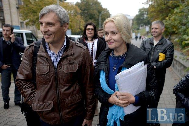 Ирина Фарион и Руслан Кошулинский