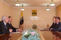 Президент Молдовы встретился с лидером непризнанного Приднестровья