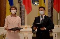 Президенты Украины и Швейцарии начали рабочую поездку на Донбасс