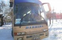 """Во Львовской области пьяный мужчина угнал автобус, """"чтобы покататься"""""""