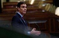 Зеленский пригласил премьера Испании в Украину на День Независимости