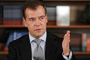 Медведев открестился от ситуации с украинскими товарами