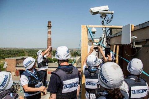 Відеокамера ОБСЄ на Донецькій фільтрувальній станції відновила роботу