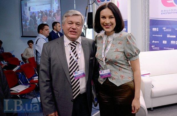 Александр Чалый и Соня Кошкина