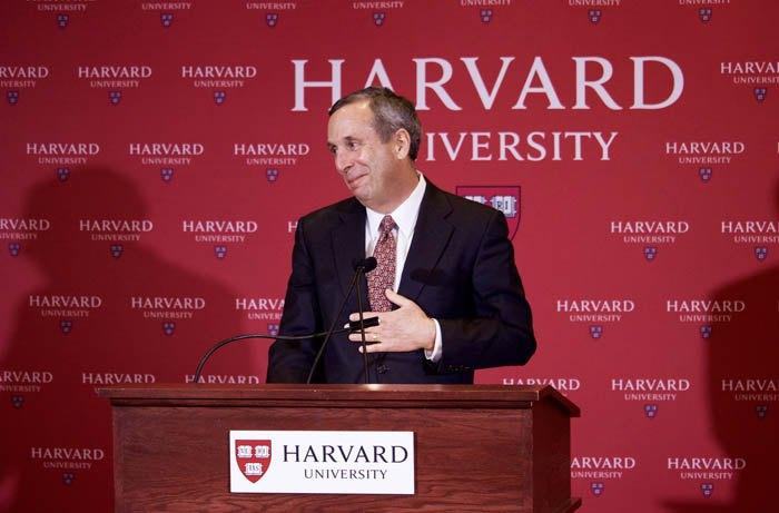 Президент Гарвардського університету Лоуренс С. Баков