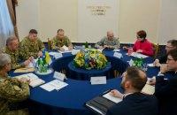 Муженко доложил Волкеру о ситуации на Донбассе