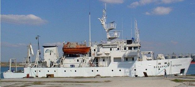 Почався ремонт єдиного наукового судна Мінприроди, яке простоювало з 2010 року