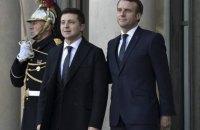 Зеленский во время переговоров с Макроном поднял вопрос предоставления Украине ПДЧ