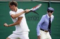 Истерикой российского теннисиста завершился матч 3-го раунда Уимблдона