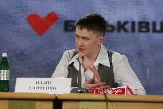 """Савченко пообещала не выходить из фракции """"Батькивщины"""""""