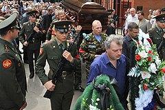 Российского полковника, убившего чеченку, похоронили с почестями