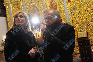 Ларри Кинг совершил экскурсию по святыням Киева