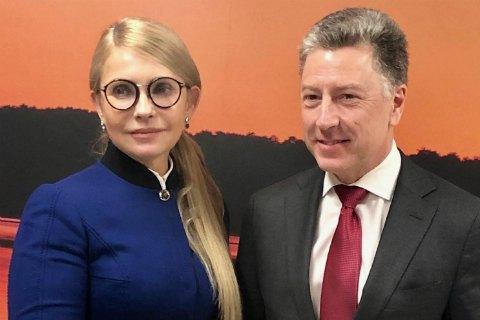 Тимошенко подозревает «искусственность» военного положения и желает его сокращения