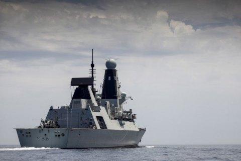 Кореспондент BBC, який перебуває на борту британського есмінця, розповів про атаку росіян
