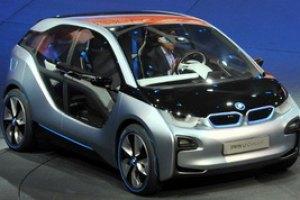 BMW выпускает серию электромобилей