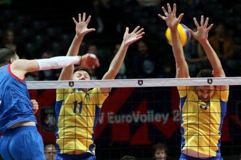 Сборная Украины по волейболу проиграла в четвертьфинале чемпионата Европы
