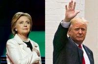 Клинтон обогнала Трампа почти на 3 млн голосов