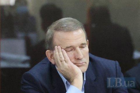 Суд у справі Медведчука перенесли на кінець липня