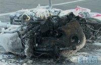 На Набережном шоссе в Киеве девушка на мотоцикле спровоцировала ДТП и сбежала