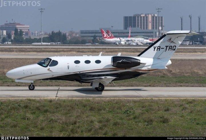 Подібний літак могли використовувати для спецоперації евакуації з України в Молдову судді Чауса, підозрюваного в корупції