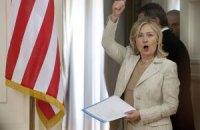 Египтяне забросали Хиллари Клинтон помидорами