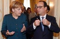 Олланд і Меркель чекають конкретних пропозицій від влади Греції