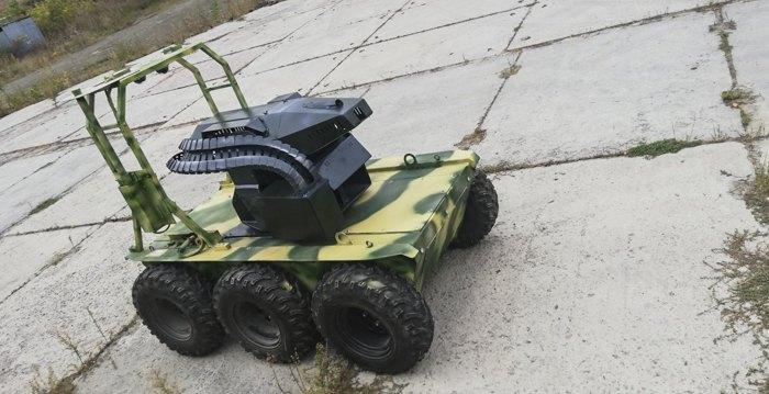 Наземний роботизований комплекс КБ Роботікс