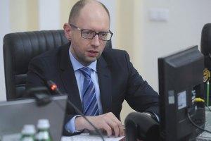Яценюк винит сепаратистов в росте курса доллара