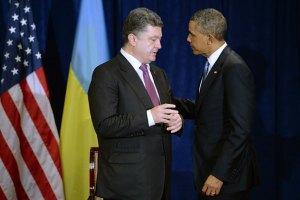 Порошенко поговорив з Обамою