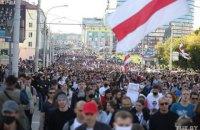 У Білорусі в неділю на акціях протесту затримали 442 людини