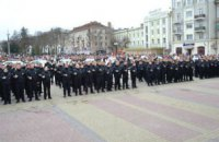 Приняла присягу новая патрульная полиция в Тернополе