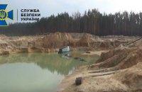 В Житомирской области разоблачили незаконную добычу песка на 14 миллионов гривен