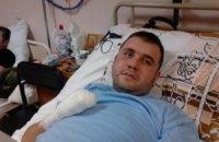 Боец 39-го батальона с травмами обеих рук и глаза нуждается в протезах