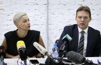Вирок білоруським опозиціонерам Колесниковій та Знаку оголосять 6 вересня