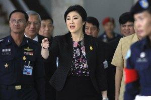 Экс-премьер Таиланда освобождена под залог в $1 млн