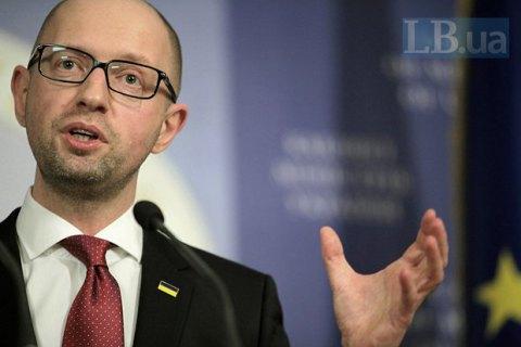 Яценюк проведе зустріч із Туском і Шульцем з приводу безвізового режиму для України