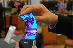Samsung покаже смартфон з гнучким дисплеєм