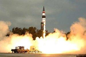 Индия тестирует ракеты дальнего действия