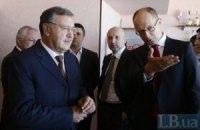 У Гриценко есть неприязнь к Яценюку, который слушает своих спонсоров