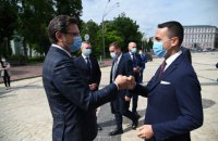 В Україну на переговори приїхав міністр закордонних справ Італії