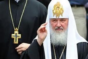 Патриарху Кириллу подарили собаку