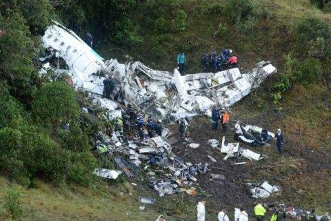 Причиною катастрофи літака з футболістами з Бразилії названо людський фактор