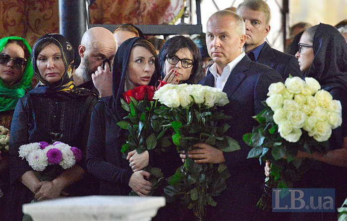 справа-налево: Нестор Шуфрич, Елена Лукаш и Елена Бондаренко